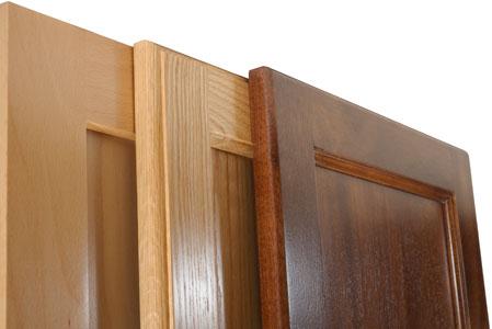 MDF Core Flat Panel Cabinet Doors Vs Solid Wood Panel