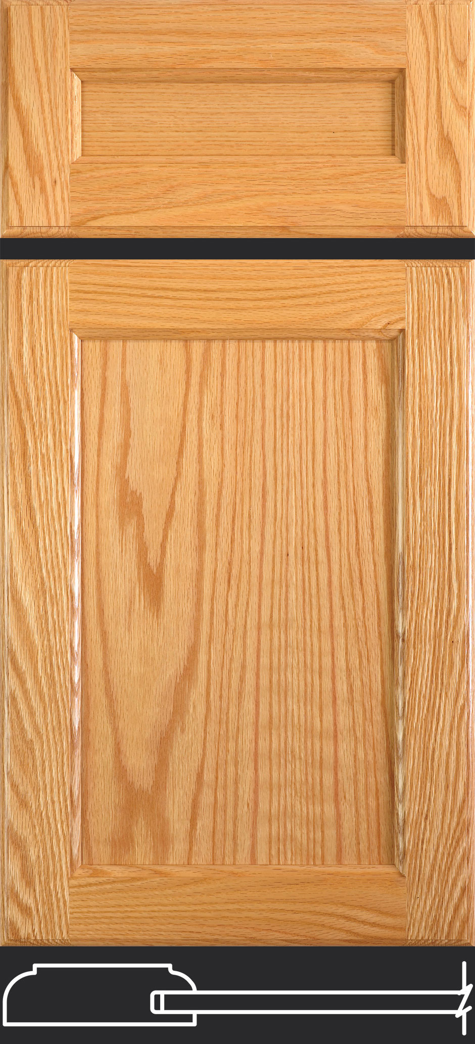 Cope And Stick Flat Panel Doors Taylorcraft Cabinet Door