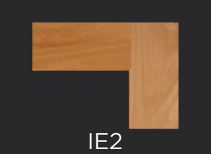 IE2 cope and stick cabinet door inside edge profile