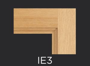 IE3 cope and stick cabinet door inside edge