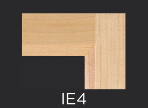 IE4 cope and stick cabinet door inside edge profile