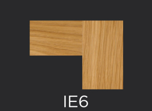 IE6 cope and stick cabinet door inside edge profile