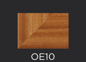 OE10 cope and stick cabinet door outside edge profile