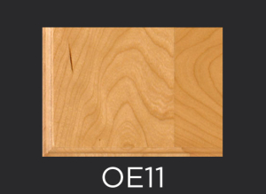 OE11 cope and stick cabinet door outside edge profile