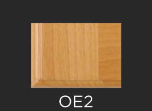 OE2 cope and stick cabinet door outside edge profile