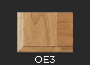 OE3 cope and stick cabinet door outside edge profile