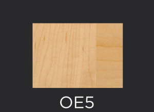 OE5 cope and stick cabinet door outside edge profile