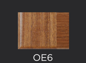 OE6 cope and stick cabinet door outside edge profile