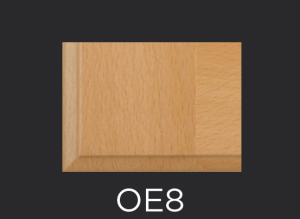 OE8 cope and stick cabinet door outside edge profile