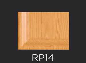 RP14 panel profile for mitered and cope and stick cabinet doors