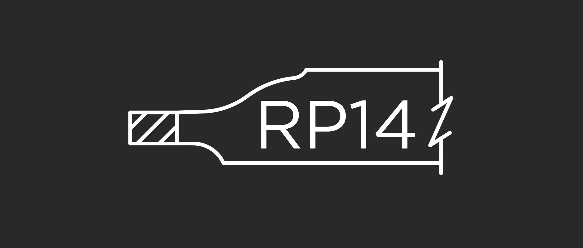 RP14 raised panel profile