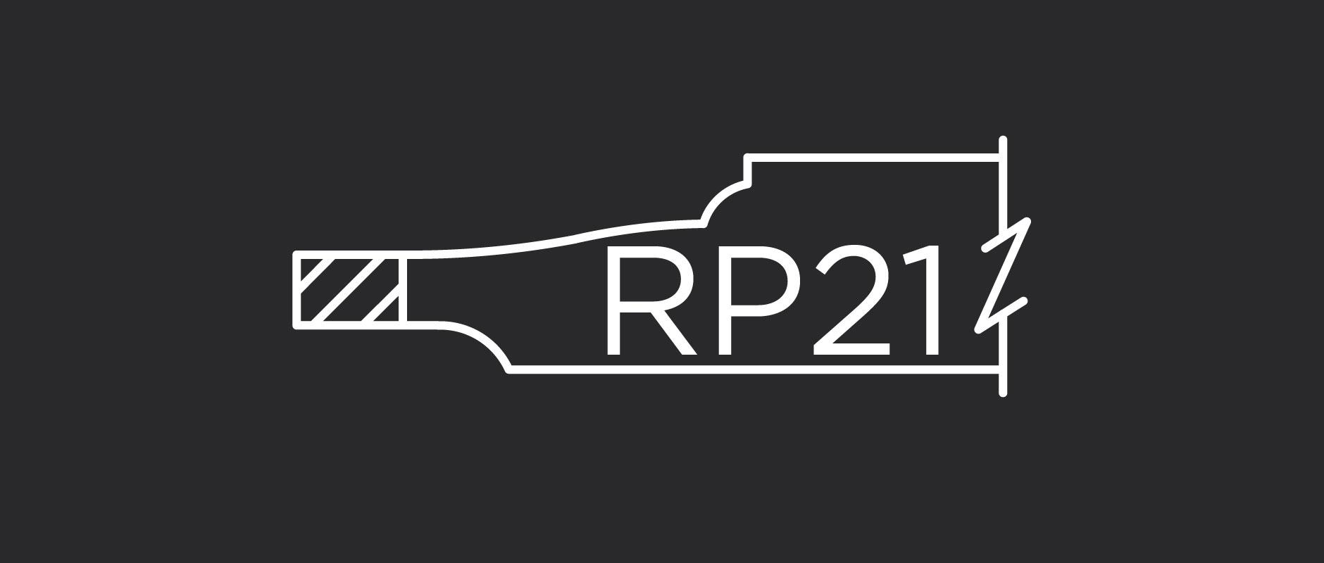 RP21 raised panel profile