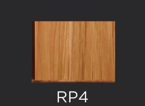 RP4 panel profile for mitered and cope and stick cabinet doors