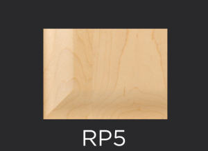 RP5 panel profile for mitered and cope and stick cabinet doors