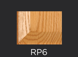 RP6 panel profile for mitered and cope and stick cabinet doors