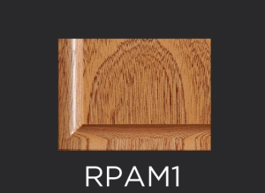 RPAM1 panel profile for use with inside edge applied molding cabinet doors