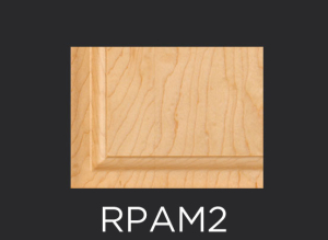 RPAM2 panel profile for use with inside applied molding cabinet doors