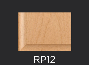 RP12 panel profile for mitered and cope and stick cabinet doors