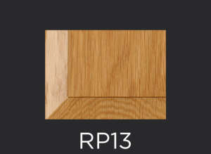 RP13 panel profile for mitered and cope and stick cabinet doors