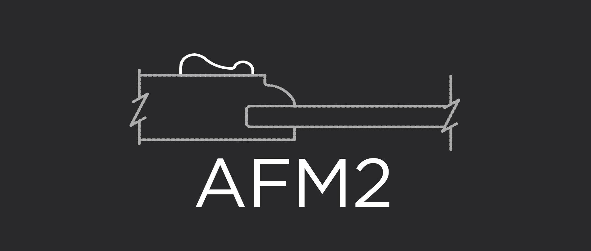 AFM2 face applied molding