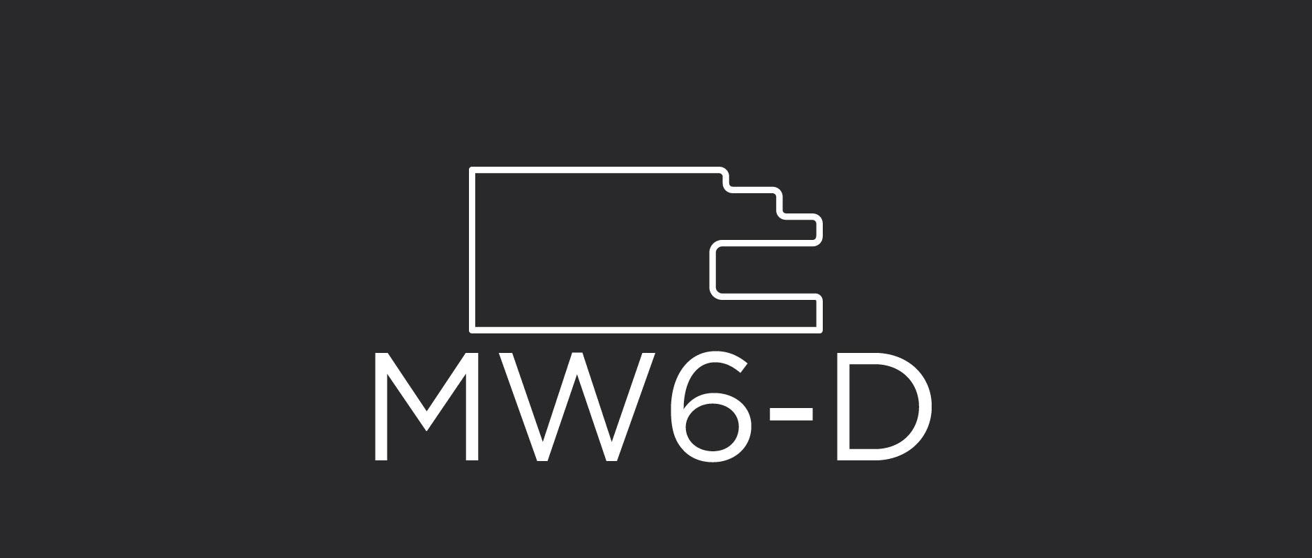 "MW6-D mitered drawer front frame 1-5/8"" wide"