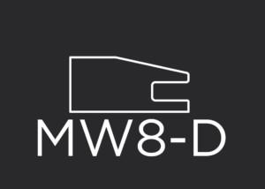 "MW8-D mitered drawer front frame 1-5/8"" wide"
