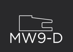 "MW9-D mitered drawer front frame 1-5/8"" wide"