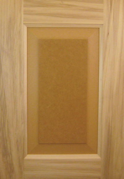 Paint Grade Poplar Frame with MDF Panel