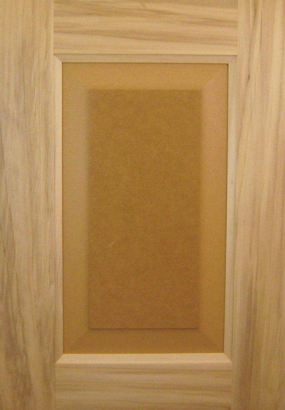 Poplar door poplar casing and baseboard installation for Mdf painted cabinet doors