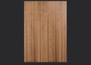 1.5mm edgebanded door and drawer front- walnut veneer