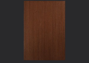 2mm Edgebanded door and drawer front in quartersawn wenge echowood veneer