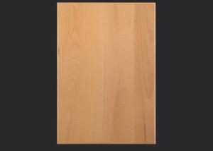3 mm edgebanded beech veneer door and drawer front