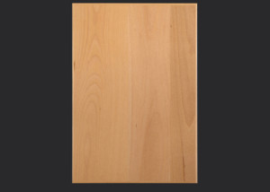 3 mm edgebanded beech veneer door and drawer front