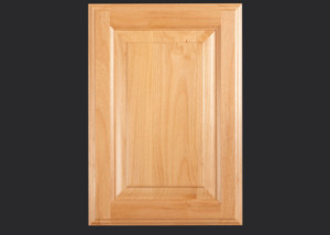 Cope and Stick Cabinet Door C101 OE1-IE3-RP11 in Alder, Select and 5-piece drawer front