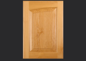 Cope and Stick Cabinet Door C14L OE2-IE1-RP11 in Alder, Select with Slab Drawer Front