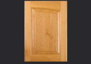 Cope and Stick Cabinet Door C14R OE2-IE1-RP11 in Alder, Select and Slab Drawer Front