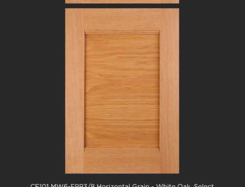 CF101 MW6-FP3/8-Horizontal Grain White Oak, Select