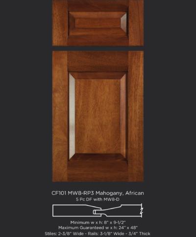 Transitional Combination Frame Cabinet Doors - TaylorCraft Cabinet Door