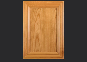 Mitered Cabinet Door M101 M2-FP3/8 in Cherry, Select and standard 5-piece drawer front