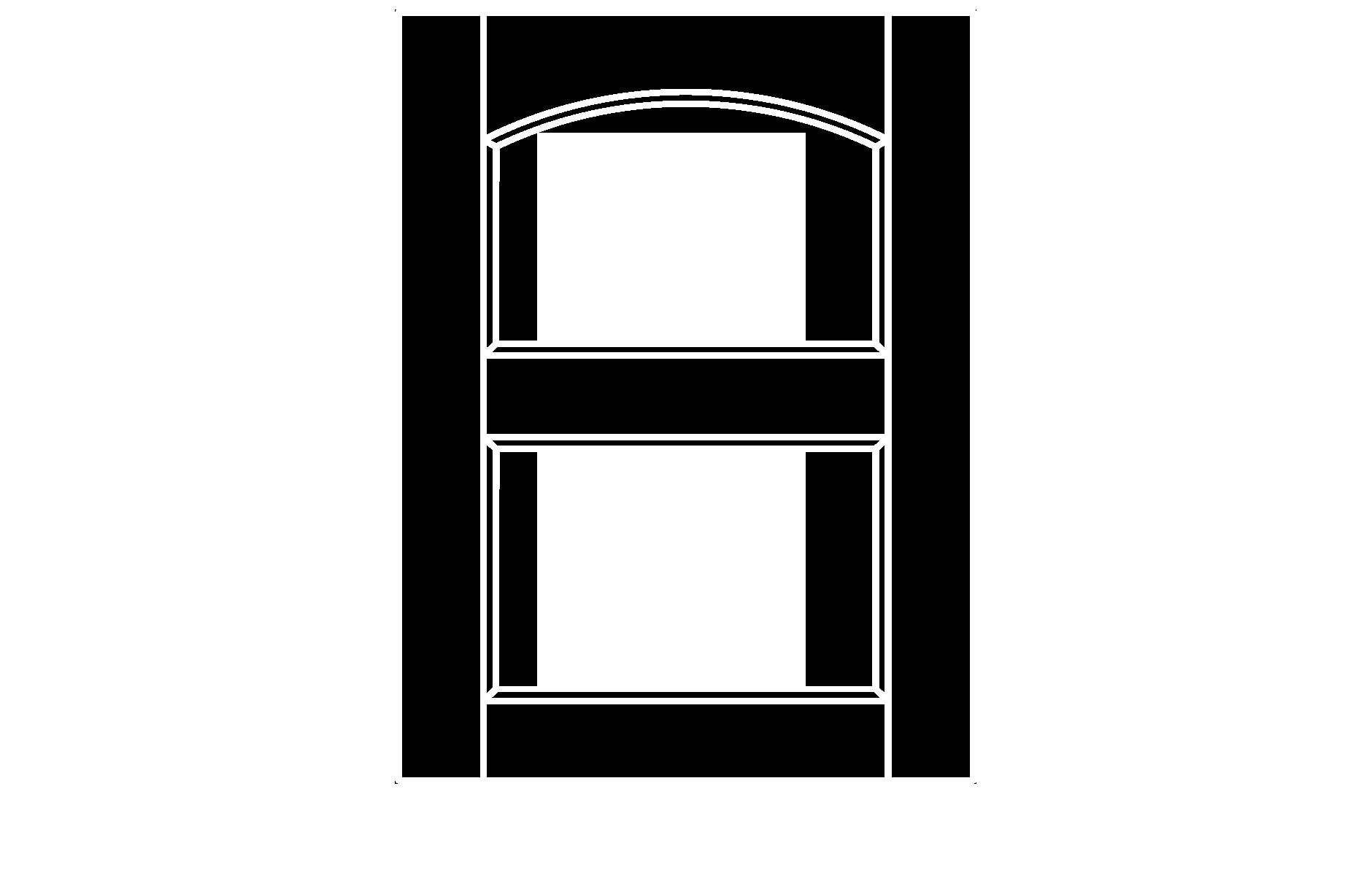 C212 cope and stick cabinet door configuration