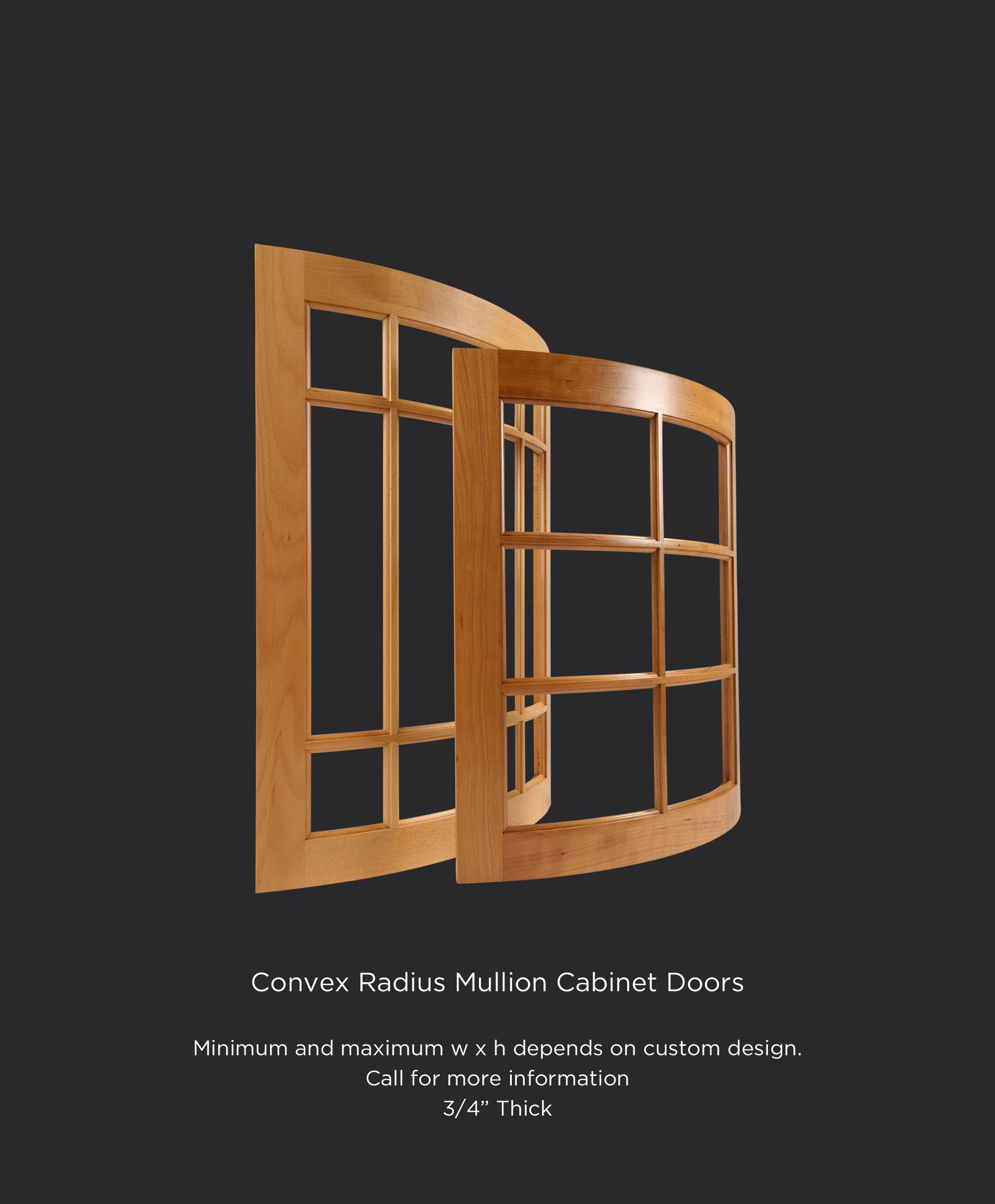 Convex Mullion Cabinet Doors Taylorcraft Cabinet Door Company