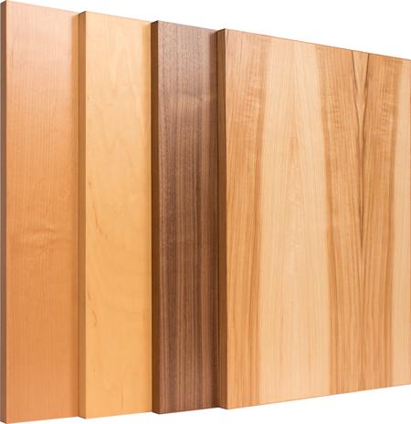 TaylorCraft Cabinet Door Company modern edgebanded veneer cabinet doors