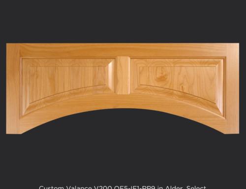 Custom Wood Valance
