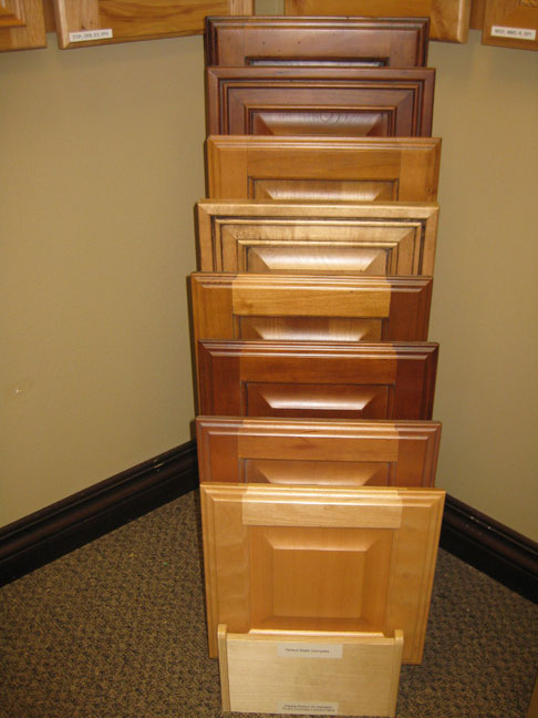 Floor Cabinet Door Display - TaylorCraft Cabinet Door Company