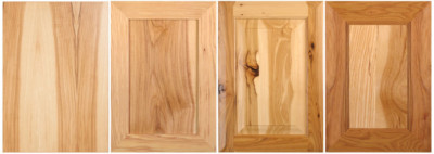 Hickory and knotty hickory cabinet doors by TaylorCraft Cabinet Door Company