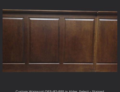 Custom Wood Wainscot
