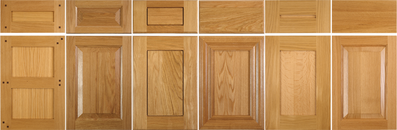 White Cabinet Doors timeless white oak and rift white oak for kitchen cabinets