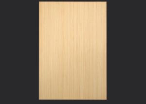 2mm Edgebanded door and drawer front in quartersawn maple echowood veneer