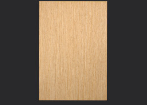 2mm Edgebanded door and drawer front in rift white oak echowood veneer