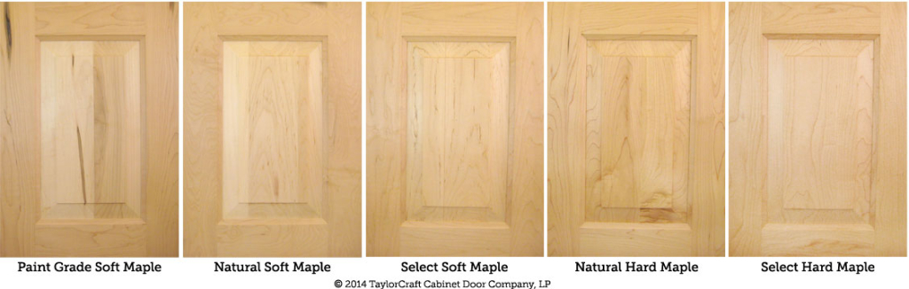 High Quality Hard Maple And Soft Maple Cabinet Door Comparison By TaylorCraft Cabinet  Door Company